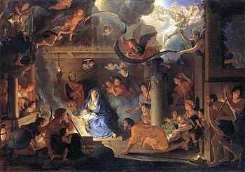 Neuvaine préparatoire à la Nativité de Notre Seigneur Jésus  350px-Charles_Le_Brun