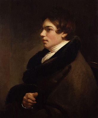 Charles Robert Leslie - Self-portrait (1814; National Portrait Gallery, London)