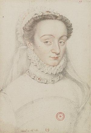 Charlotte de Sauve - Portrait of Charlotte de Sauve, painted by an unknown artist
