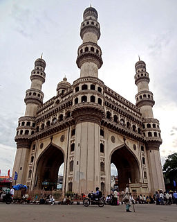 Charminar Famous mosque in Telangana, India
