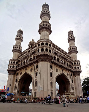 Muhammad Quli Qutb Shah - Charminar in Hyderabad was built by Quli Qutub Shah