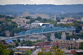 Chattanooga, Tennessee - North Shore and Midtown neighborhoods