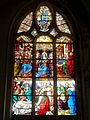 Chaumont-en-Vexin (60), église Saint-Jean-Baptiste, verrière n° 12.JPG