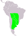 Chauna torquata distribution.PNG