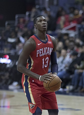 Cheick Diallo - Diallo playing for the Pelicans in 2017