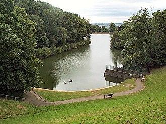 Allerton, West Yorkshire - Image: Chellow Dene lower reservoir geograph.org.uk 37348