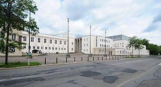 Stadtbad in Chemnitz, errichtet 1928-1935 nach Entwurf von Stadtbaurat Fred Otto (Quelle: Wikipedia)