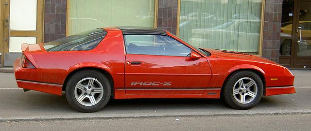 Iroc Z Wiki >> File:Chevrolet Camaro IROC-Z-2.jpg - Wikimedia Commons