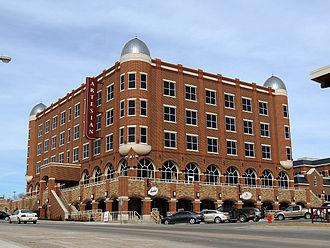 Sulphur, Oklahoma - Chickasaw Nation Artesian Hotel in Sulphur