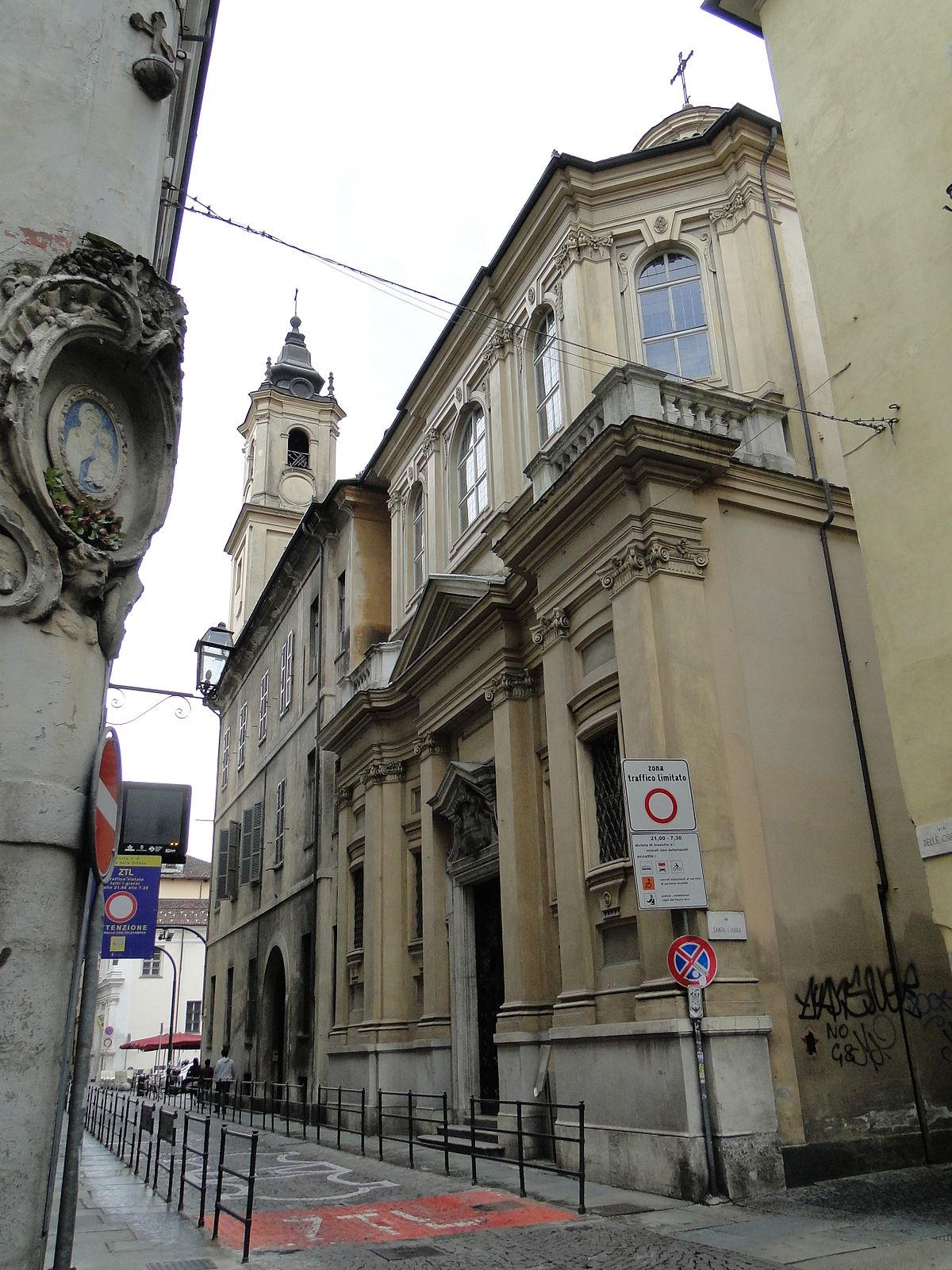 Tutto Luce Torino To chiesa di santa chiara (torino) - wikipedia