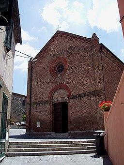 Chiesa di San Salvatore Istia d'Ombrone (GR)