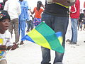 Child with Gabonese Flag.JPG