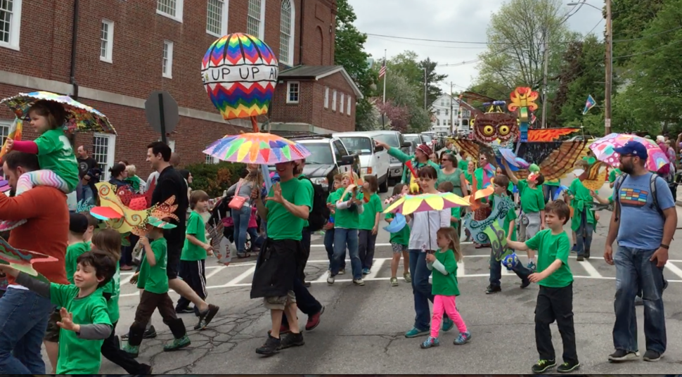 Children and the Arts Parade in Peterborough NH