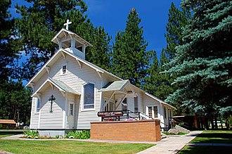 Chiloquin, Oregon - Our Lady of Mt. Carmel Catholic Church