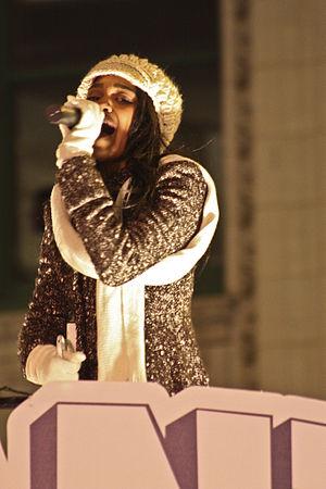 China Anne McClain - McClain performing in November 2011