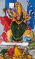 Chinalingala Dussera 2015 Sri Mahishasuramardhini devi Alamkaram by Girikonda.jpg