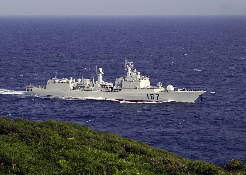 File:Chinese destroyer Shenzhen DDG167.jpg