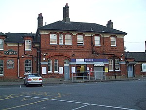 Chingford branch line - Chingford station building