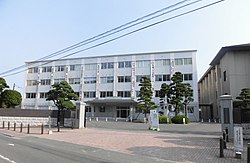 Chinzei High school and Shinwa High school 2018.JPG