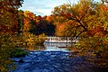 Chippewa Falls Duncan Creek Dam and Fall Colors by Greg Sleight.jpg
