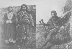 Chishima Ainu people (from a book published in 1901).png