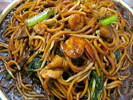 I'd chow down on that CHOW MEIN!