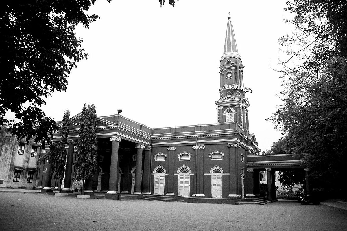 Christ Church Picture: Christ Church Anglo-Indian Higher Secondary School