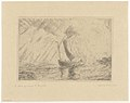 Christ Calming the Storm, print by James Ensor, 1886, Prints Department, Royal Library of Belgium, S. IV 92184.jpg