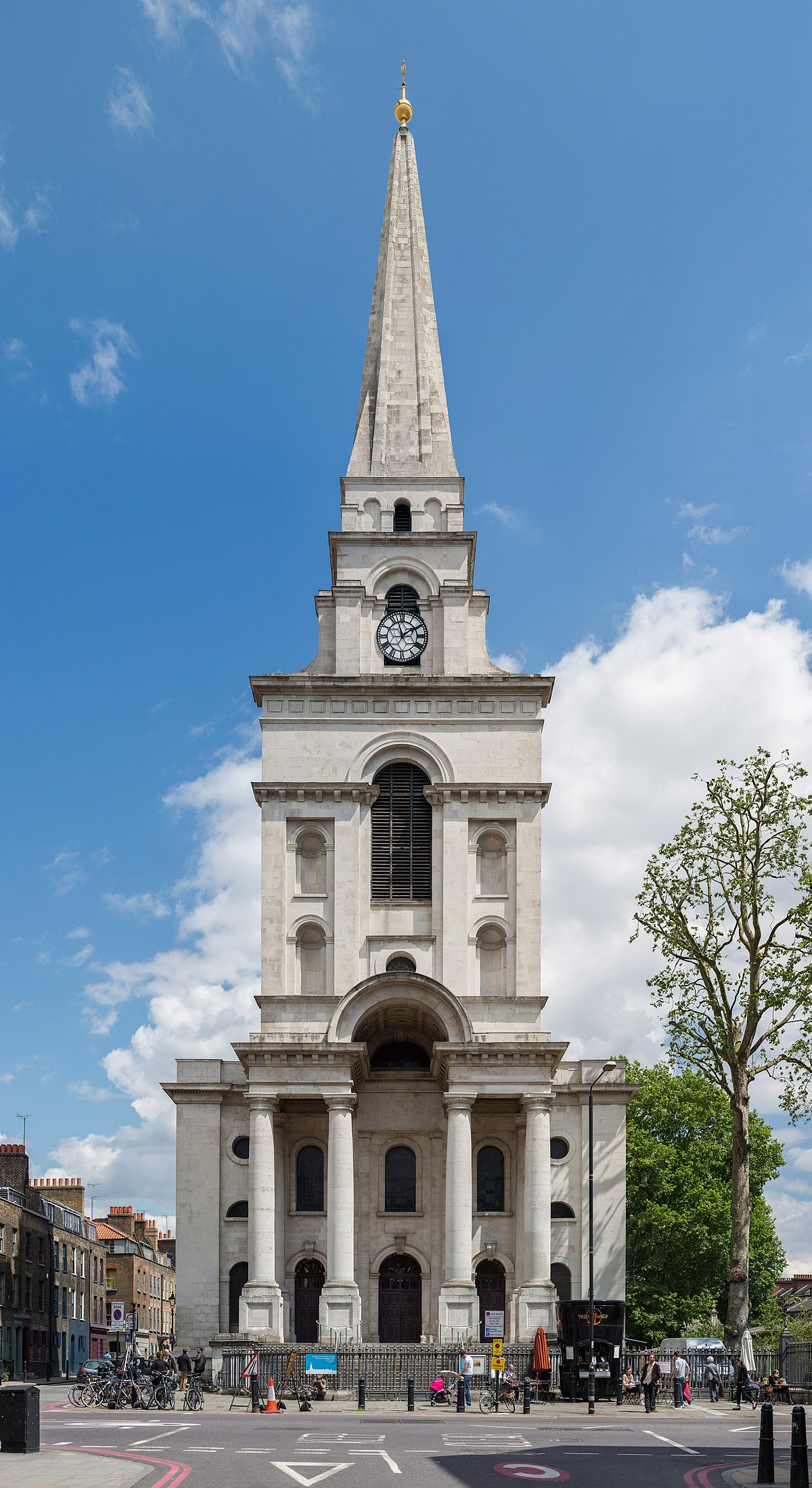East End London: Christ Church, Spitalfields