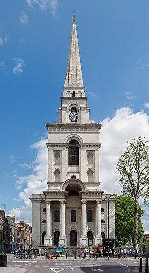 London Borough of Tower Hamlets - Christ Church of Spitalfields