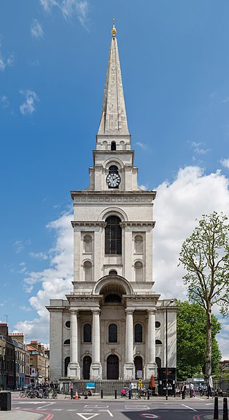 Christ Church, Spitalfields - Image: Christ Church exterior, Spitalfields, London, UK Diliff
