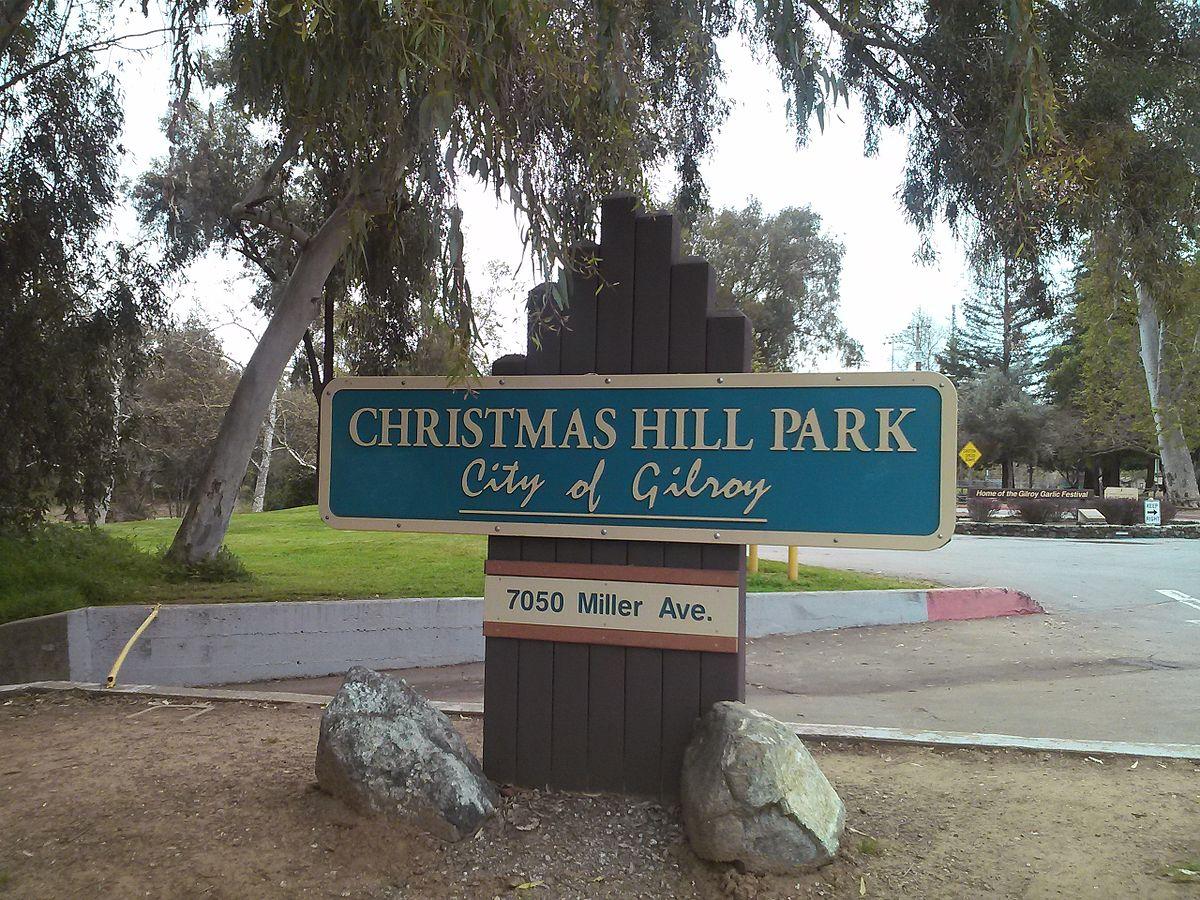 Christmas Hill Park Map.Christmas Hill Park Wikipedia