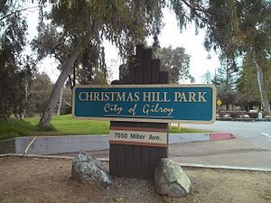Christmas Hill Park - Image: Christmas Hill Park in Gilroy California USA, March 2017