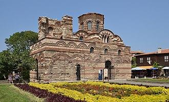 Nesebar - Image: Church of Christ Pantocrator, Nesebar (by Pudelek)