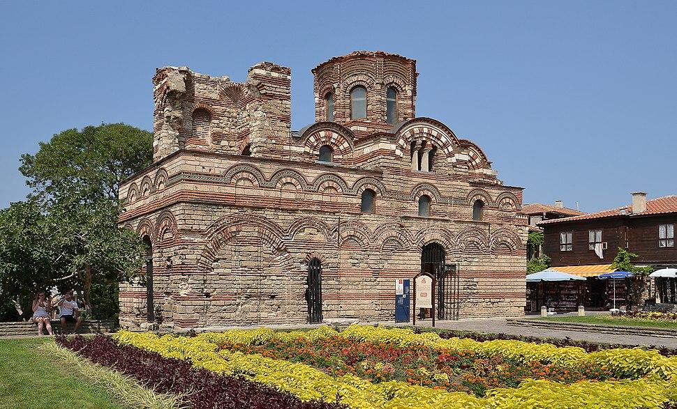 Church of Christ Pantocrator, Nesebar (by Pudelek)