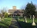 Church of St Cuthbert at Clungunford - geograph.org.uk - 653623.jpg
