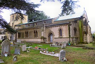 Church of St Katharine, Ickleford - The Church of St Katharine of Alexandria, Ickleford