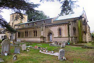 Church of St Katharine, Ickleford - The Church of St Katharine of Alexandria, Ickleford