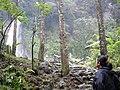 Cibeureum Waterfall, Between Mount. Gede ^ Pangrango, West Java - Indonesia - panoramio.jpg