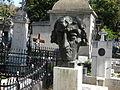 Cimitirul Bellu ortodox - (Mormantul lui Toma Caragiu), Bucuresti (detaliu 1).JPG