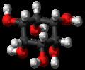 Cis-Inositol molecule ball.png