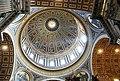 Città del vaticano.Basilica di San Pietro. Interno della cupola. Maggio 2010 - panoramio.jpg