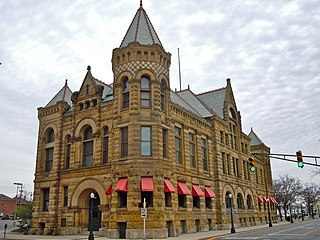 Fort Wayne Old City Hall Building United States historic place