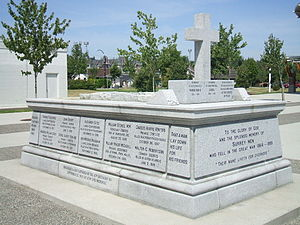 City of Surrey Cenotaph 2009