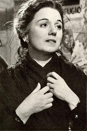 Clelia Matania - Clelia Matania in 1952