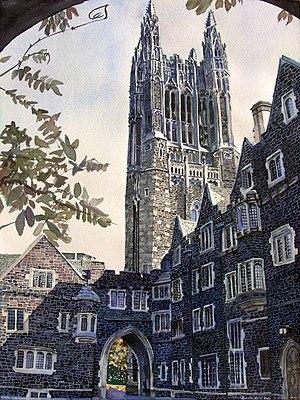 Cleveland Tower, Princeton University, Old Gra...