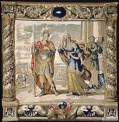 Aeneas says Farewell to Dido