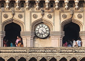 Charminar - Clock of the Charminar