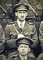 Close up of Henry Pickerill photo staff, Queen's Hospital, Sidcup 4 June 1918 (14828939554).jpg