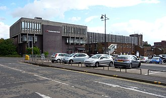 Clydesdale Bank - A Clydesdale Bank branch in Kilmarnock
